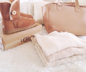 fashion, bag, and ugg image