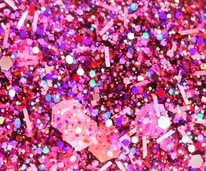 glitter, pink, and sparkle image