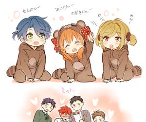 anime, kawaii, and gekkan shoujo nozaki-kun image