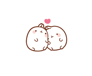 love, bunny, and couple image