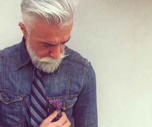 beard and tie image