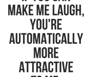quote, laugh, and attractive image