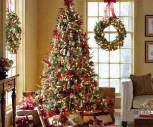 christmas, festive, and girly image