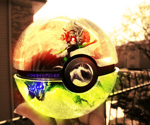 pokeball, pokemon, and midna image