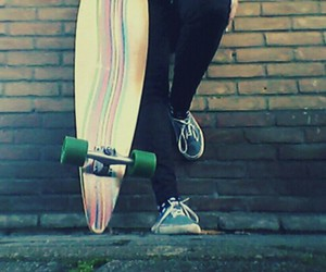 freedom, hipster, and longboard image