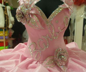 barbie, dress, and pink image