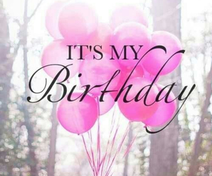 birthday, happy, and pink image