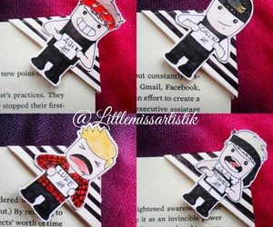 bookmarks, calum hood, and 5sos fanart image