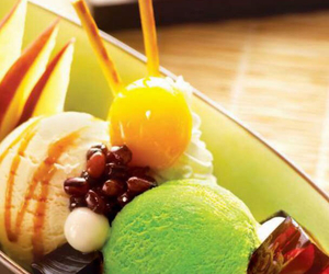 beans, dessert, and FRUiTS image