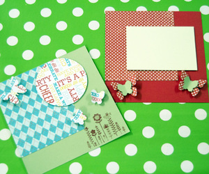craft, handmade, and scrapbooking image