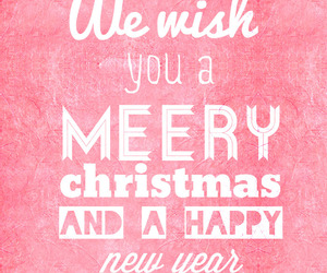 christmas, happy, and new year image