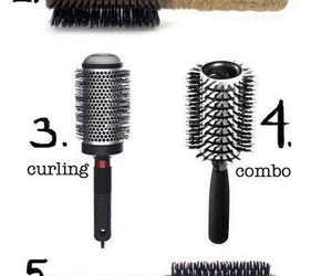 Brushes, hair, and tips image