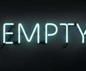 empty, grunge, and neon lights image