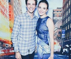 couple, cw, and danielle panabaker image