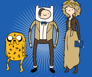 10, Dalek, and doctor image