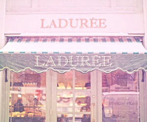 laduree, pink, and vintage image