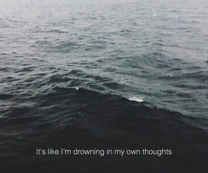 grunge, thoughts, and quote image