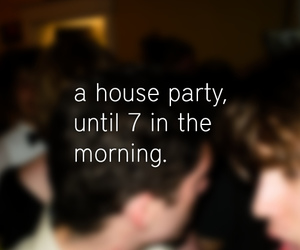 blur, typography, and party image