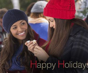 Bonnie, the vampire diaries, and christmas image