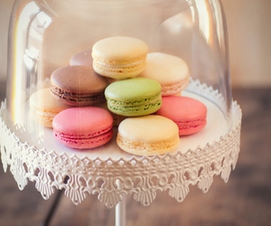 beautiful, colorful, and macarons image