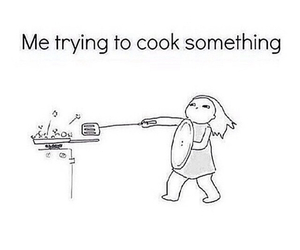 cooking, funny, and lol image