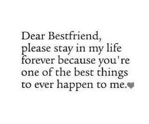best friend, forever, and text image