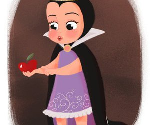 disney, snow white, and apple image