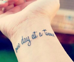 tattoo and time image