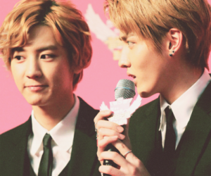 exo, kpop, and krisyeol image