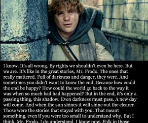 frodo, Sam, and the hobbit image