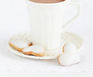 white, coffee, and Cookies image
