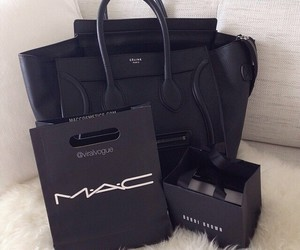mac, bag, and black image