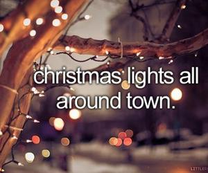 christmas, town, and city image