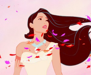 pocahontas, disney, and wind image