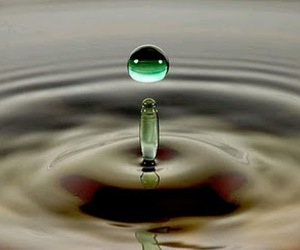 drip, photo, and water image