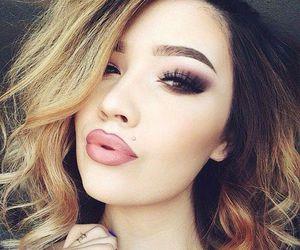girl, beautiful, and hair image