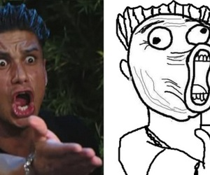 funny, lol, and jersey shore image