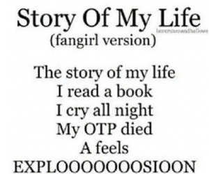 story of my life, books, and one direction image