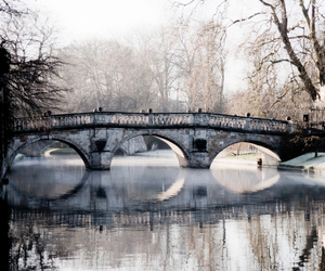 cambridge, morning, and river image