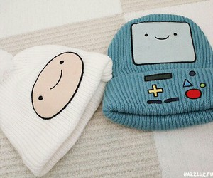 adventure time, hat, and finn image