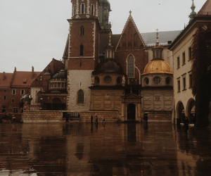 castle, cracow, and cathedral image