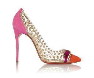 beautiful, heels, and red sole image