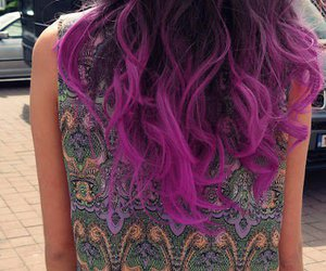 ombre, purple, and waliyha malik image