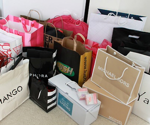 shopping, clothes, and fashion image