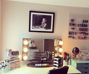 room, makeup, and luxury image
