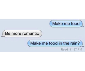 food, romantic, and funny image