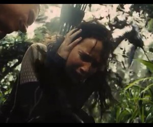 arrows, rainforest, and catching fire image