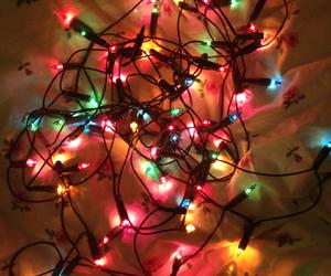 christmas, christmas lights, and drink image