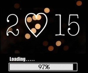 new year, new years eve, and 2015 image
