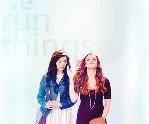 tw, allison argent, and teen wolf image